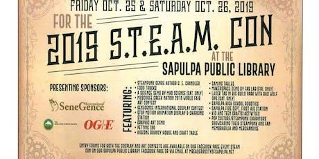 STEAM Con Steampunk Pop Culture Convention tickets