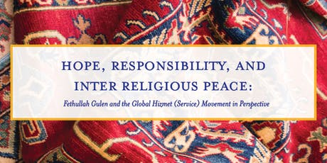 Hope Responsibility and Inter Religious Peace: Movement in Perspective tickets