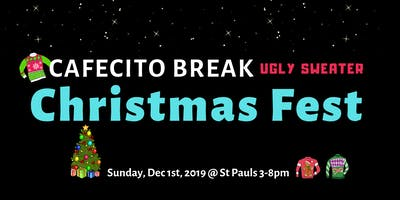 Ugly Sweater Christmas Fest   Cafecito Break