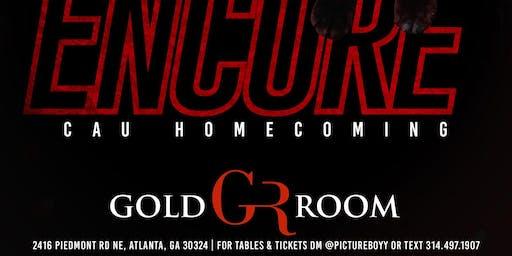 CAU Homecoming @ Gold Room