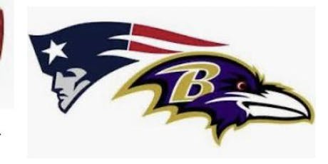 PATS-Ravens Tailgate ONLY tickets
