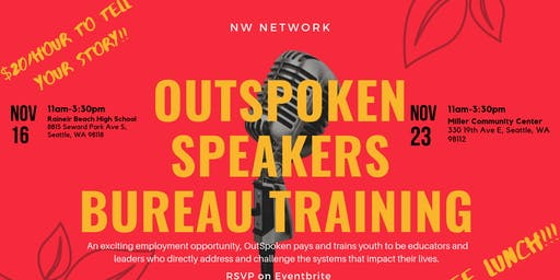 OutSpoken Speakers Bureau Training