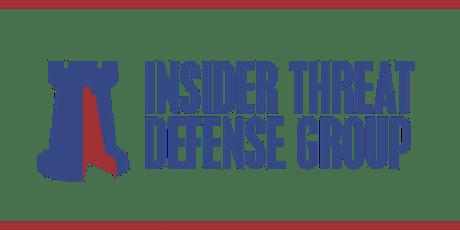 Insider Threat Program Development & Management - Manager Training Course tickets