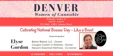 Denver Women of Cannabis - October Networking Event tickets
