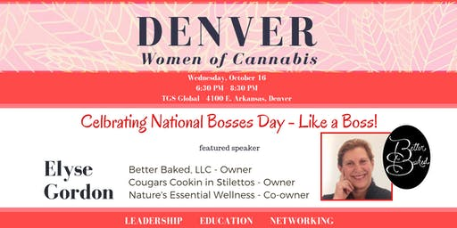 Denver Women of Cannabis - October Networking Event