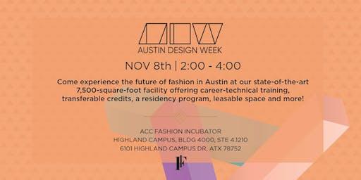 Austin Design Week: Fashion Incubator Tour