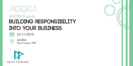 Building Responsibility into Your Business for SMEs tickets