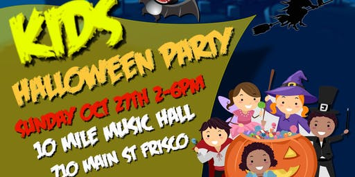 Kid's Halloween Party - Free Entry, No Ticket Needed