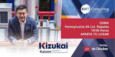 Conferencia Kizukai - MBA Alejandro Kasuga en CDMX tickets