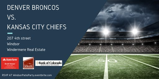 Windermere Patio Party | Thursday Night Football