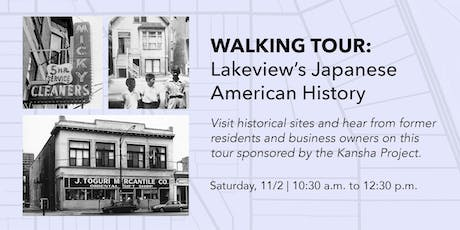 Walking Tour: Lakeview's Japanese American History tickets
