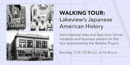 Walking Tour: Lakeview's Japanese American History