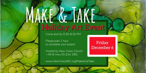 Make-And-Take Art Event & Exhibit