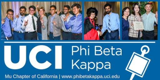 Phi Beta Kappa Fall Welcome Social