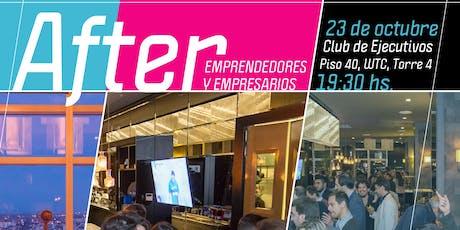 AFTER OCTUBRE Edición Socios en Piso 40 entradas