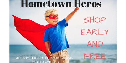 FREE Teachers, adoptive/foster parents, EMT, Doctors, Nurses and military (Reg. $5)(Children must be in a stroller or carrier) Friday March 20th 3-8:30pm