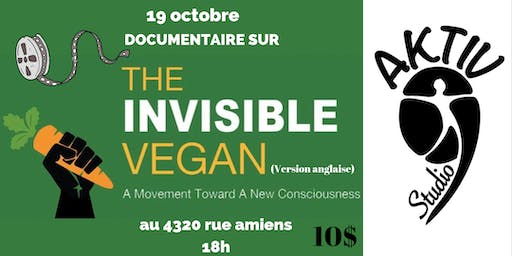 Visionnement et Discussion: THE INVISIBLE VEGAN