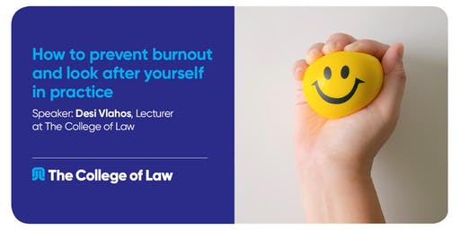 How to prevent burnout and look after yourself in practice