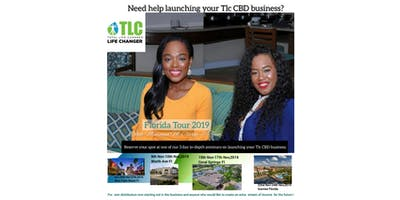 Launch your Tlc CBD business 3 Day seminar 2019.