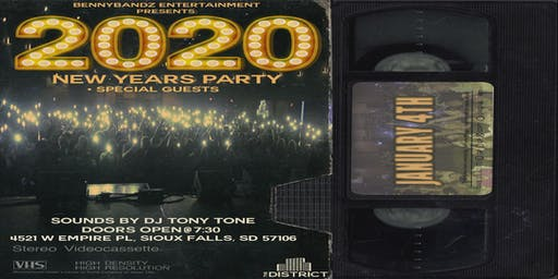 BENNY BANDZ 2020  NEW YEARS PARTY + SPECIAL GUEST