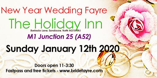 The Holiday Inn New Year wedding fayre