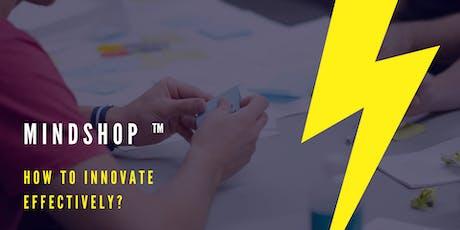 MINDSHOP™ | The Art of Lean Innovation bilhetes