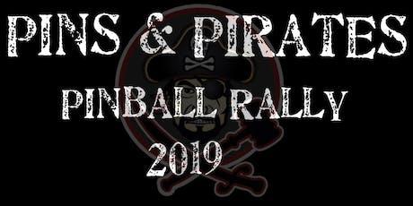 Pins & Pirates Pinball Rally 2019 tickets