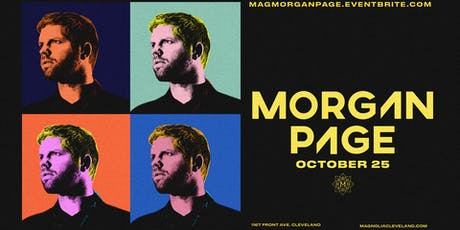 Morgan Page at Magnolia Cleveland - Halloween Weekend tickets