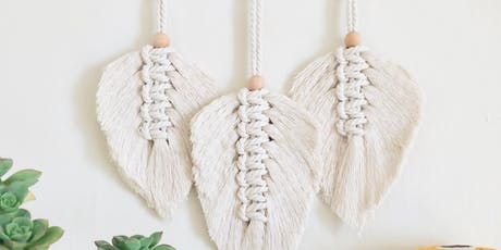 Macrame Feathers Workshop 10.20.19 tickets