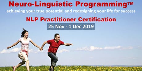 NEURO-LINGUISTIC PROGRAMMING (NLP) PRACTITIONER tickets