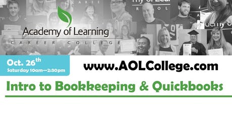 Introduction to Bookkeeping Theory and Quickbooks tickets