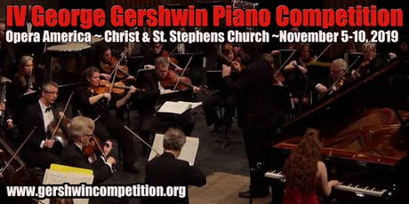 George Gershwin Music Competition 2019 - Finals tickets