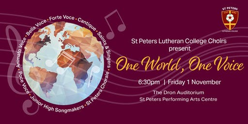 One World, One Voice - St Peters All Choirs Fundraising Concert