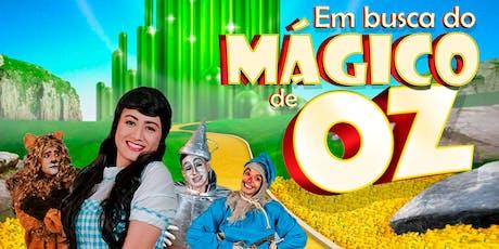 Desconto: Em busca do Mágico de Oz, no Teatro Dr Botica ingressos