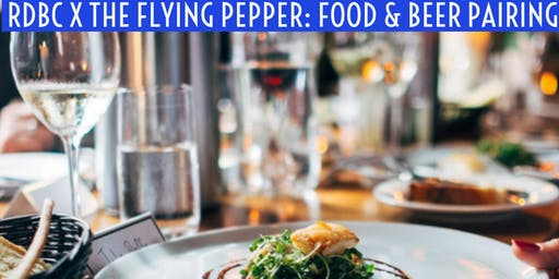 RDBC X Flying Pepper Food Pairing Party