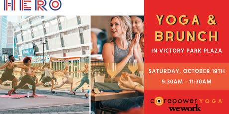 Yoga & Brunch at HERO tickets