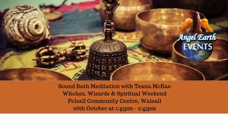 Sound Bath Meditation with Teana tickets