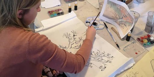 Japanese Painting Workshop