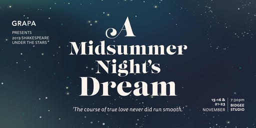 A Midsummer Night's Dream - Shakespeare Under the Stars