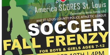 Soccer Fall Frenzy and Camp-America Scores-Jennings-PAL tickets