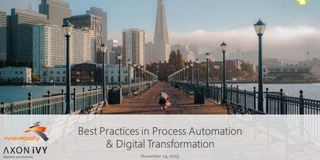 Best Practices in Process Automation & Digital Transformation with AXON.Ivy tickets