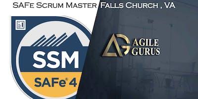 SAFe® 4.6 Scrum Master Certification Class - Falls Church