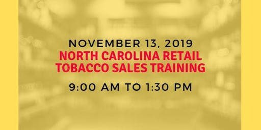 North Carolina Retail Tobacco Sales Training