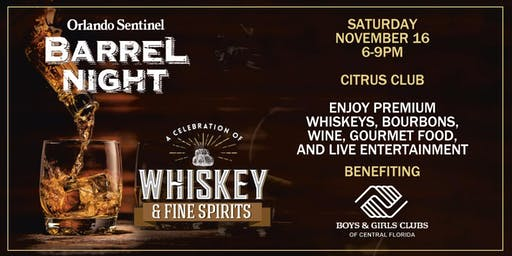 Orlando Sentinel Barrel Night 2019