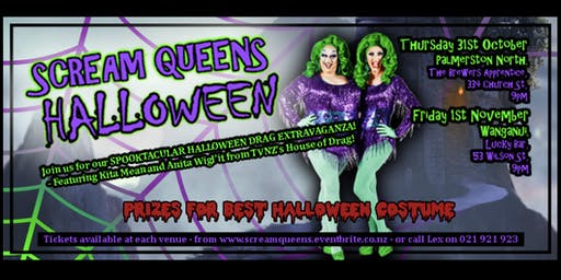 Scream Queens Halloween Whanganui