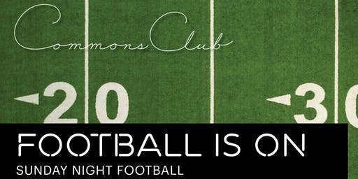 Sunday Football at Commons Club