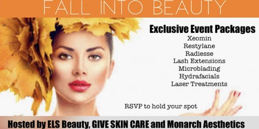 Fall into Beauty Event