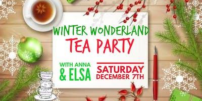 Tea Party in Winter Wonderland