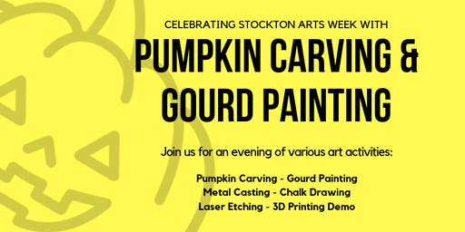 Carve-Your-Own Pumpkins and Gourd Painting