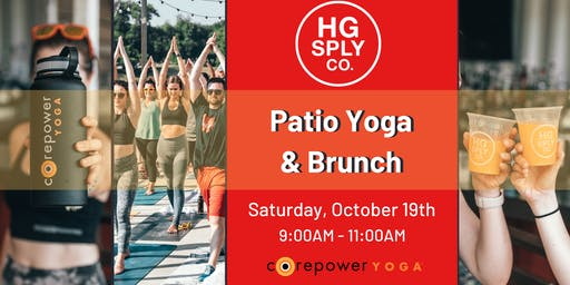 Patio Yoga & Brunch